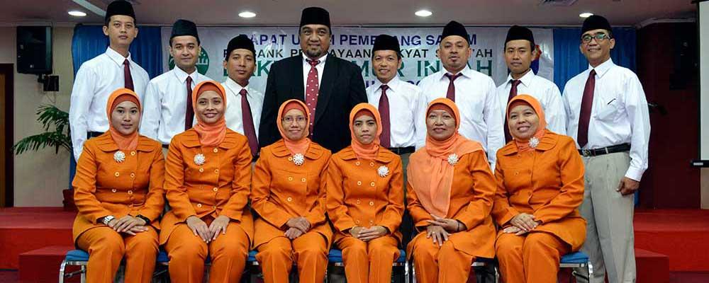Pengurus dan Karyawan PT. BPR Syariah Baktimakmur Indah