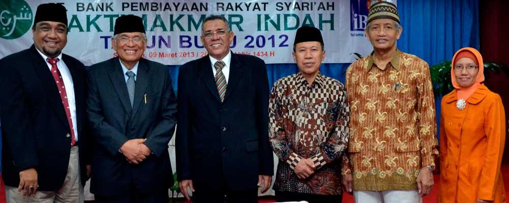 Pengurus PT. BPR Syariah Bakti Makmur Indah
